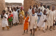 School kids in North Darfur