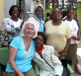 With members of Baraka Women's Center