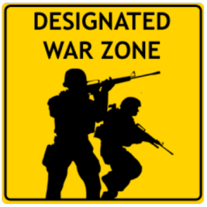 Designated War zone image